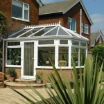 Victorian style uPVC conservatory