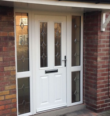 Composite Amp Upvc Entrance Doors