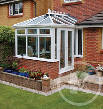 uPVC georgian conservatory installation photo