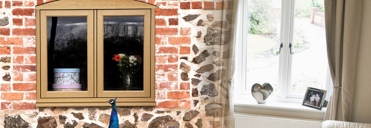 Timber effect windows by R9