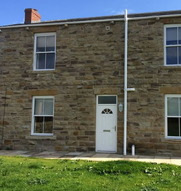 uPVC sash windows for a more traditional look