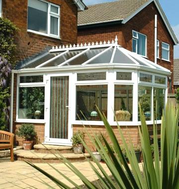 Victorian uPVC conservatory