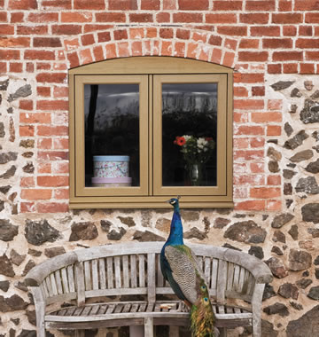 Timber effect windows by Residence 9