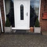 Composite door and matching sidelights